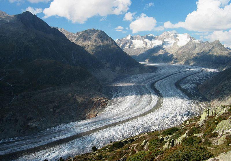 Glacier et moraines 2