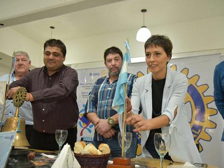 Compartí una cena con miembros del Rotary Club de San Francisco Solano