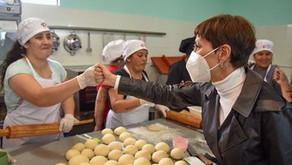Estuvimos en la cooperativa gastronómica La Chinita