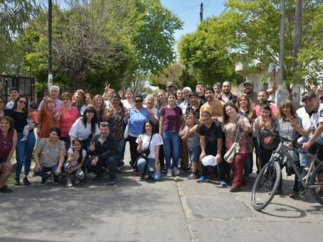 Recorrimos los barrios Atuel y El Refugio de Ezpeleta junto a los vecinos y vecinas