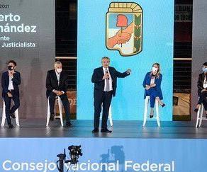Acompañamos a @alferdez en la asunción como presidente del @p_justicialista a nivel nacional