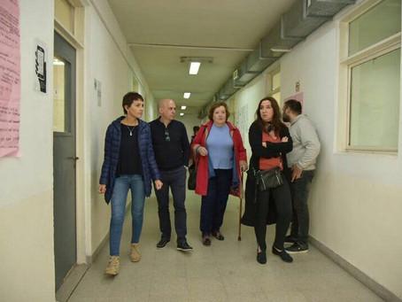 Recorrimos el Instituto de Formacion Docente Nro 24 de Barrio Parque en Bernal