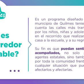 #CorredoresAmigables es un programa participativo que diseñamos