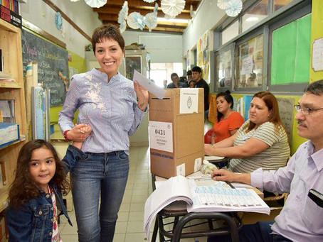 ¡Buen día! Ya votamos en la Escuela Pública 41 de Quilmes Oeste