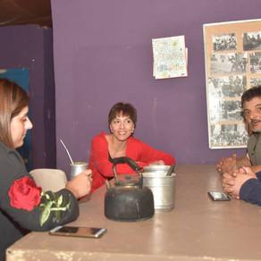 Visitando al comedor Los Patoncitos de La Ribera de Quilmes.
