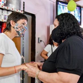 Estuvimos en un operativo de vacunación de @QuilmesMuni, @ansesgob y @PAMI_org_ar