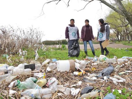 Participamos de la jornada de recolección y residuos organizada por Ideal Quilmes