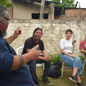 Con vecinos y vecinas de La Florida en Quilmes,