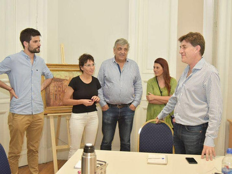 Visitamos la Casa de la Cultura, la Biblioteca y el Teatro Municipal 🎭