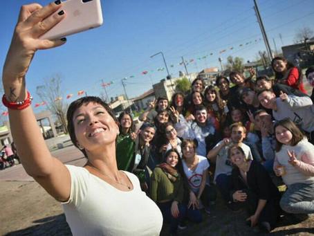 ¡Gran jornada junto a estudiantes en la plaza La Matera de Quilmes Oeste!