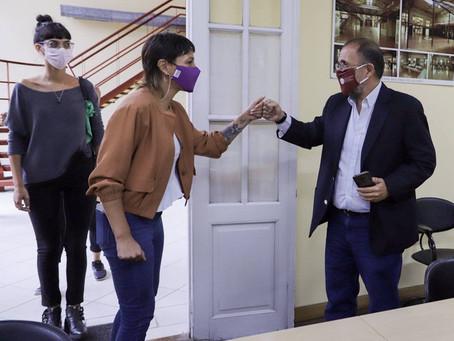 Charlamos con Alejandro Villar, rector de la @UNQoficial