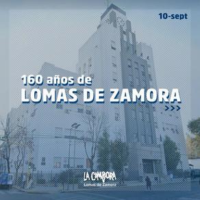 ¡Feliz cumpleaños al querido pueblo vecino de Lomas de Zamora!