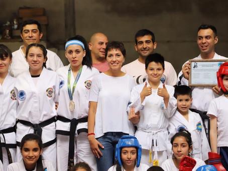 Saludamos a los chicos de taekwondo de la Sociedad de Fomento José Hernández de Quilmes Oeste