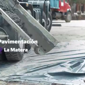 La obra conectividad Este-Oeste en el barrio La Matera forma uno de nuestros compromisos de gestión
