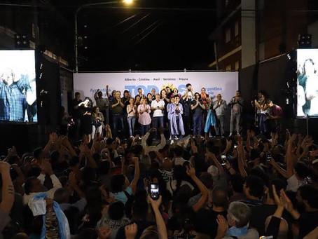 Quiero agradecer a todos los vecinos y vecinas de Quilmes