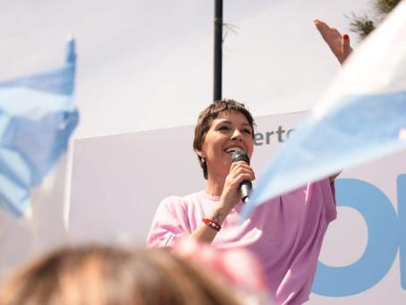 ¡Gracias a todos los que me acompañaron en el gran cierre de campaña en San Francisco Solano!