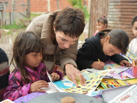 Visitamos la copa de leche Arco Iris del barrio San Cayetano en Quilmes Oeste