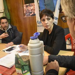 Con organizaciones de derechos humanos de Quilmes y la Provincia de Bs. As.