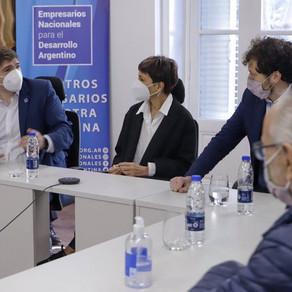 Nos reunimos con autoridades de la @EnacArgentina