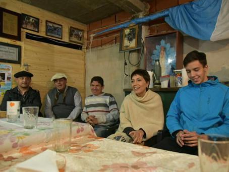 Me reuní con los integrantes de la comisión de los centros tradicionalistas de Quilmes
