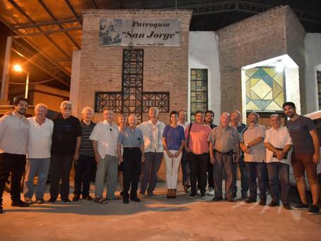 Nos reunimos con sacerdotes de Quilmes en la parroquia San Jorge en Ezpeleta