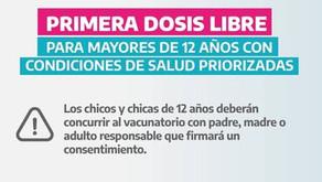 Nuevos anuncios sobre el plan de vacunación en la provincia de Buenos Aires