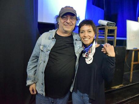 ¡Nos visitó un grande! Gracias Pedro Saborido por la visita a #Quilmes
