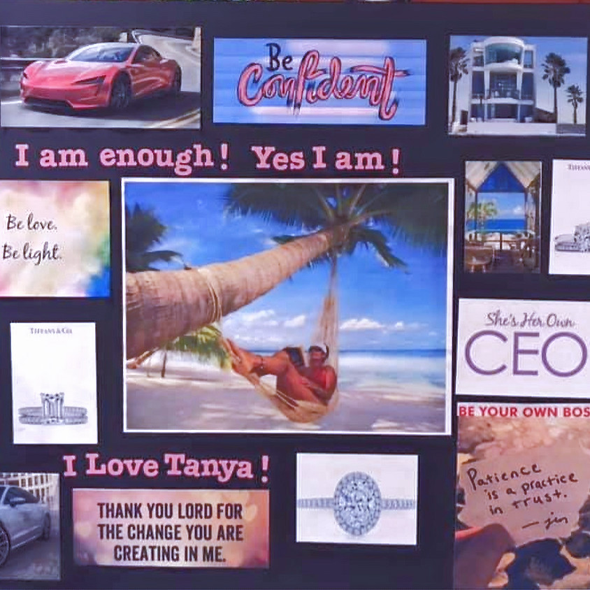 Vision Board Personal Growth Workshop - Dream Bigger For 2020
