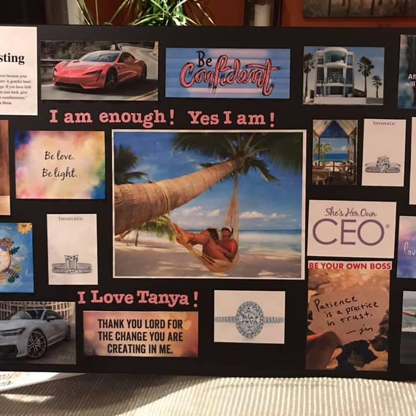 1/2 Price Virtual Vision Board Workshop
