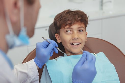 laser dentistry for children in the denal zone clinic in dubai by top dentist