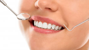 routine dental checkup in the denal zone