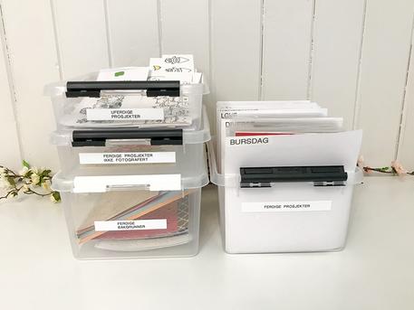 Organisering -- Kortprosjekter fra start til slutt