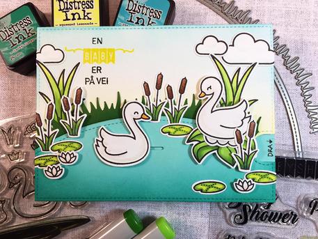Gjesteblogger -- Lawn Fawn -- Pull Tab Babykort