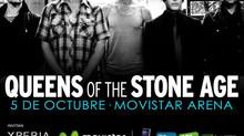 Abriendo show de Queens of Stone Age con Alain Johannes Band