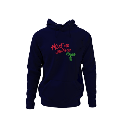 Meet me Under the Mistletoe Hoodie