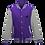 Thumbnail: Barbarian Unisex Varsity Jacket