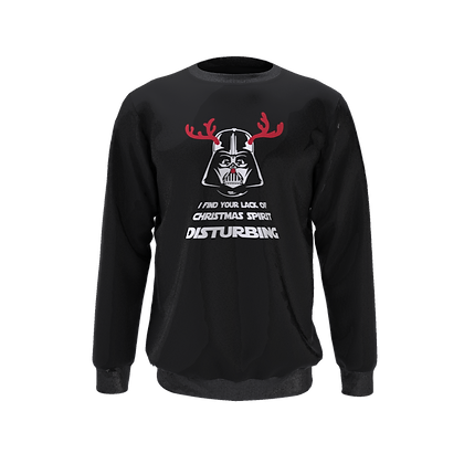 Darth Christmas Kids Sweatshirt