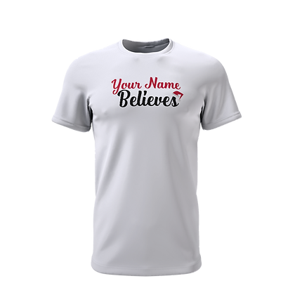 Personalised Believer T-Shirt