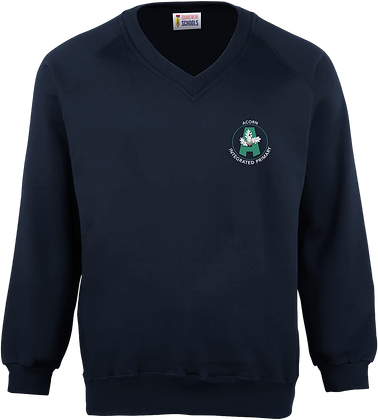 Acorn Integrated Primary School Knitted Sweatshirt