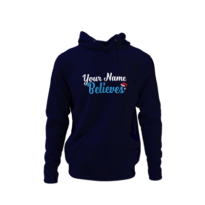Personalised Believer Kid's Hoodie
