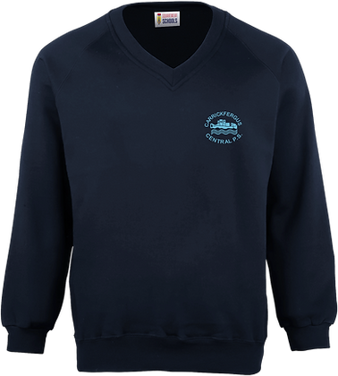 Central Primary School Knitted Sweatshirt