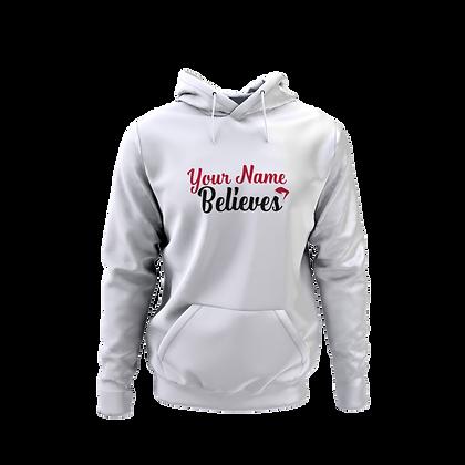 Personalised Believer Hoodie