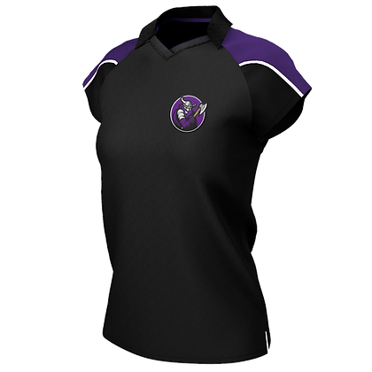 Barbarians Women's - Pro Contrast Polo