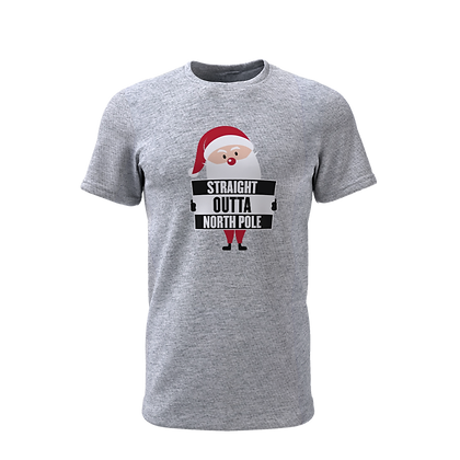 Straight Outta North Pole T-Shirt