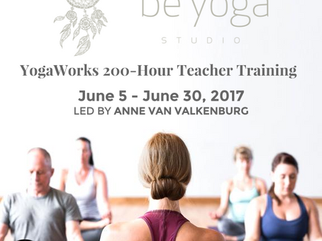 Yogaworks Yogalærer Utdannelse