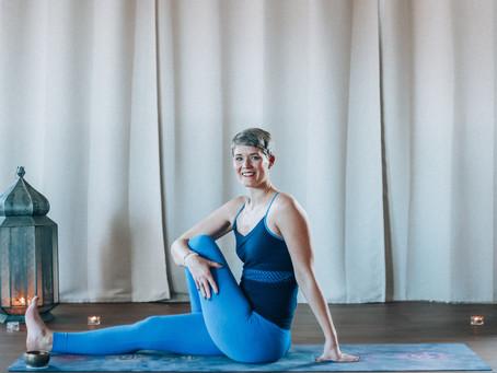 Vår Yogalærer Linda