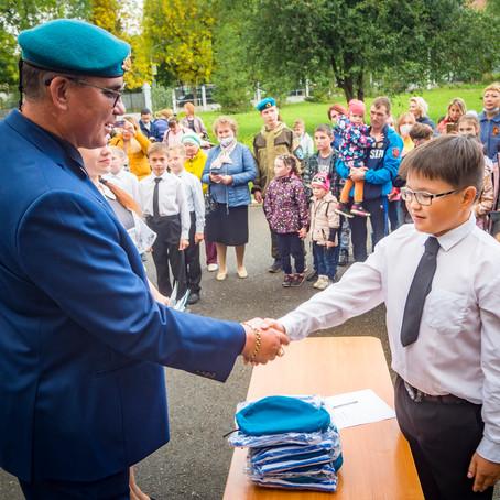 Посвящение в кадеты ВДВ