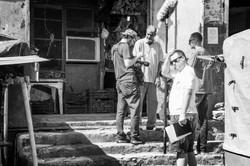 En tournage au souk