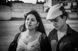 Meriem Zabiri et Oussama Djeghim