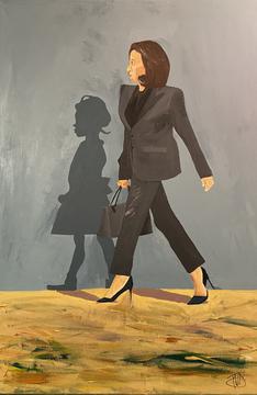 "xSOLDx Kamala Harris Walking with Ruby Bridges ""Pick up the torch"" - Ruby Bridges"